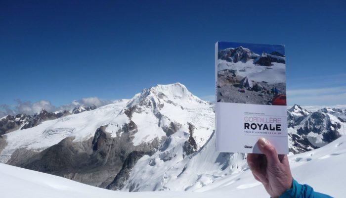 Le livre Trek et Andinisme en Cordillère Royale