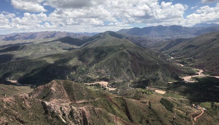 Trek dans Cordillera De Los Frailes, proche de Sucre