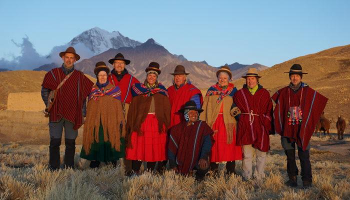 Sur les thakis de Bolivie