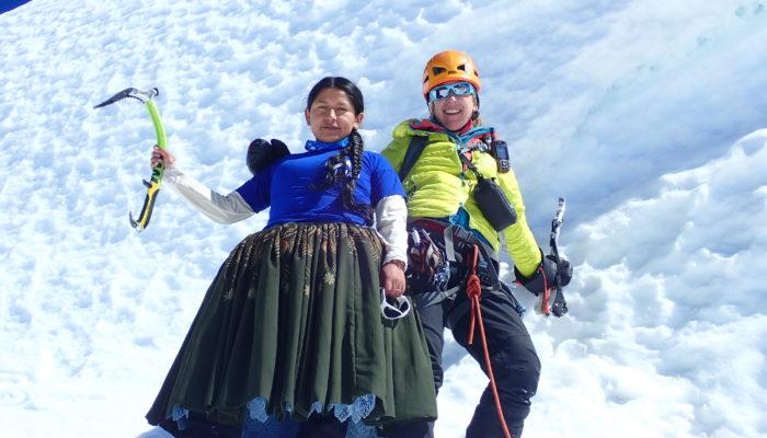 Une nouvelle cordée franco-bolivienne 100% féminine