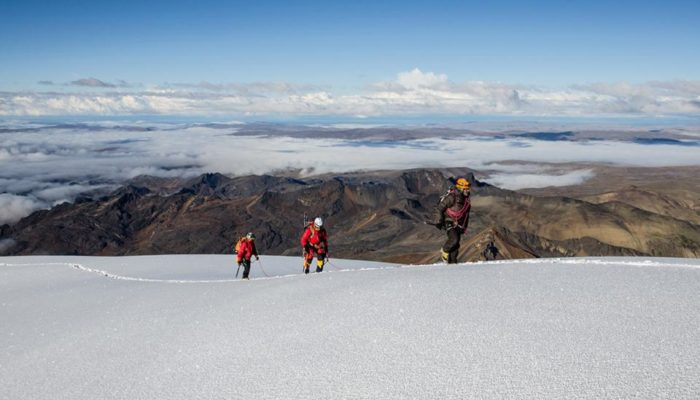 Ascension de l'Ullakaya et Condorini