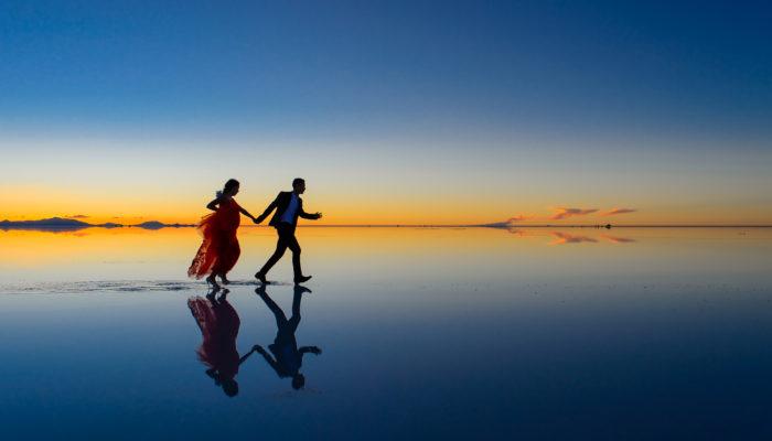 Salar d'Uyuni : Entre terre et ciel