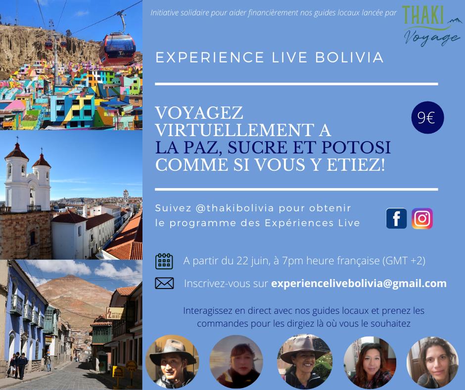EXPERIENCES VIRTUELLES EN BOLIVIE