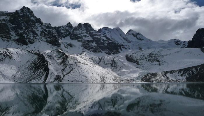 LAGUNA CHIARKHOTA (4680 m alt.) - PASO AUSTRIA (5140 m alt.) - LAGUNA CONGELADA - LAGUNA JURIKHOTA (4700 m alt.)